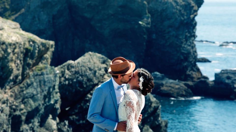 {Wedding} Camille & Vincent I Film de mariage à Belle-Île-en-mer (56)